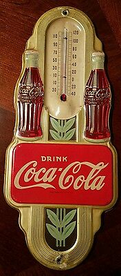 Vintage Coca Cola sign thermometer 1941