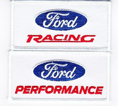 Ford Racing Performance Sew/iron On Patch Embroidered Shelby Cobra Mustang Gt