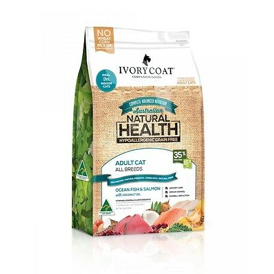 Ivory Coat Cat Grain Free Ocean Fish/Salmon with Coconut Oil Biscuits 3kg