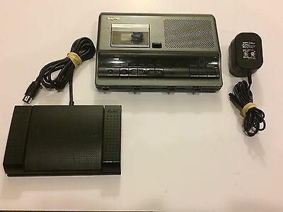Sanyo Memo Scriber TRC-6030 Microcassette Transcribing System - Free Shipping!