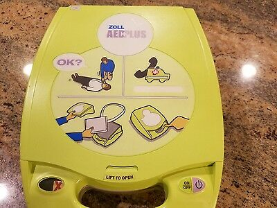 ZOLL AED PLUS - Biphasic- new defib pads and batteries