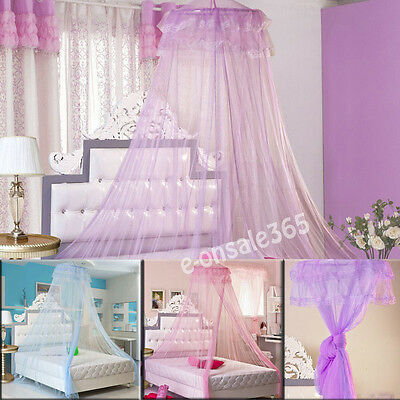 Anti-Mosquito Net Fly Insect Protection 1M-1.8M King Size Canopy For Bed Room UK