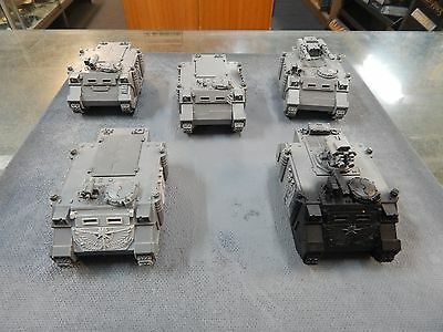 Games Workshop Warhammer 40k Space Marines Astral Claws Rhino's