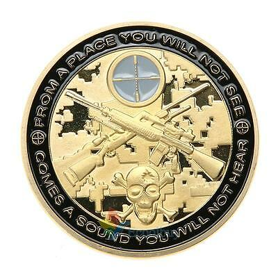 Pure copper Soldier Army Gun War Souvenir Commemorative Coin A