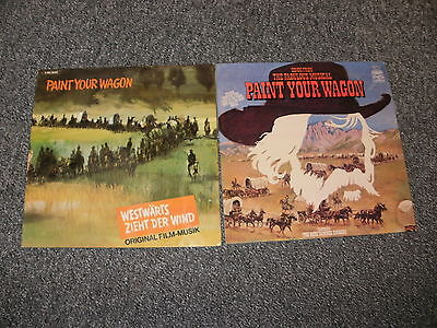 Paint Your Wagon   Movie Soundtrack  Two   Lp Vinyl Record's  Free Uk P & P