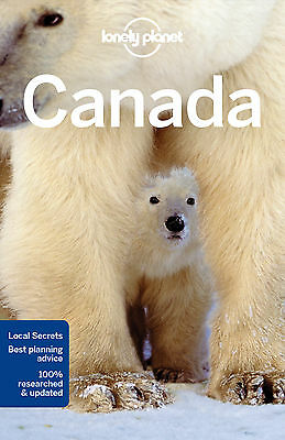 Lonely Planet Canada Travel Guide BRAND NEW 9781786573353