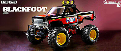 Tamiya Rc Kit Blackfoot 2016 2Wd 1/10 58633