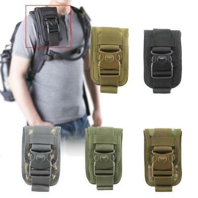 Molle Waist Pack Shockproof Double Phone Pouch Wallet Card Hand Bag