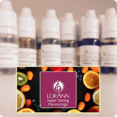Lorann Flavouring Concentrated Food Flavour Drops from USA Flavor