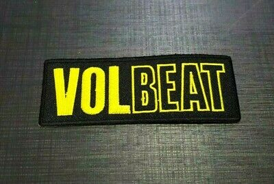 VOLBEAT thrash Embroidered Patch Iron Sew Logo music rock band punk heavy metal