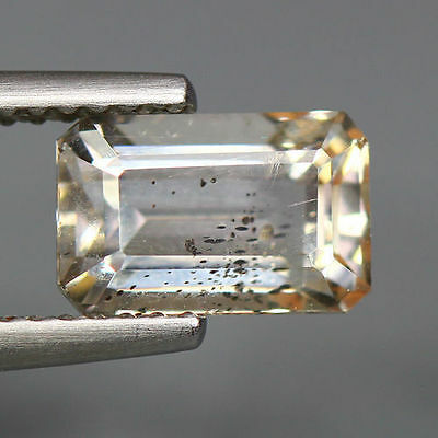 1.87 Cts_World Class Very Rare Gemstone_100 % Natural Yellow Scapolite_Brazil