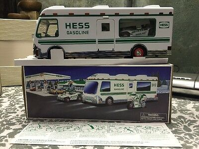 HESS 1998 Recreation Van with Dune Buggy and Motorcycle MINT