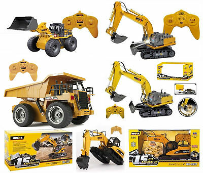 New Radio Controlled Industrial Vehicles Truck Digger Excavator 6 - 15 Channel