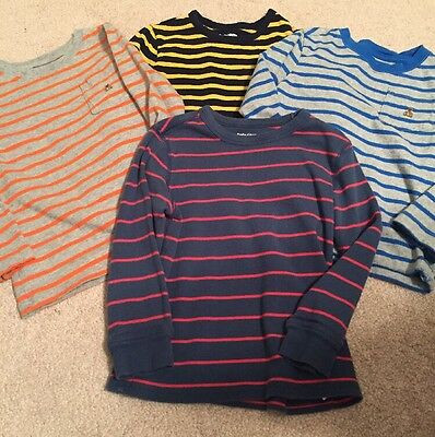 Lot Of 4 Baby Gap Kids Toddler Boys Long Sleeve Shirts Size 4 Years 4T