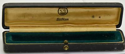 ORIGINAL VINTAGE Pelikan Toledo fountain pen Luxury Morocco leather case c1936