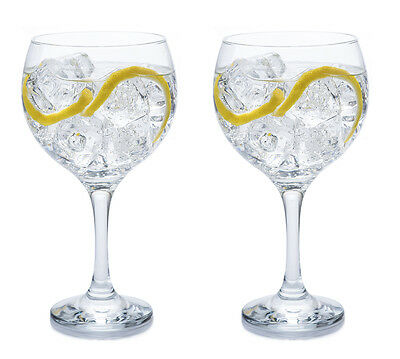 Set of 2 Gin Balloon Glasses (645ml) Cocktail / Celebration / G&T