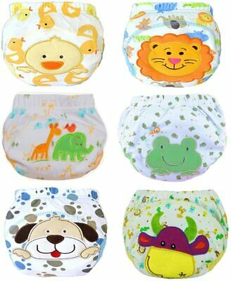 JT-Amigo Baby Boys Underwear Potty Training Pants Reusable 6 Pack, Size 2-3 Year