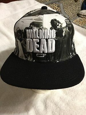 Walking Dead Amc Base Ball Hat Adult Size New W/o Tags