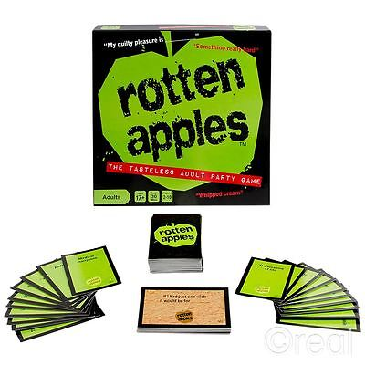 New Rotten Apples Hilarious Adult Party Board Game Official