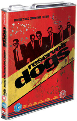Reservoir Dogs DVD (2008) Quentin Tarantino cert 18 2 discs Fast and FREE P & P
