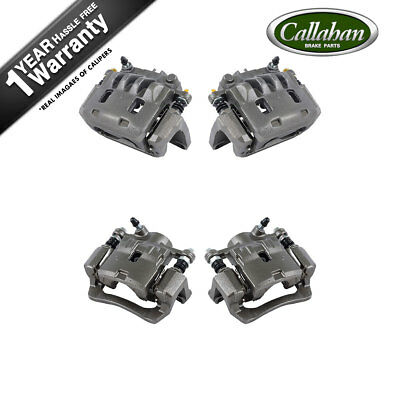 Front And Rear Brake Calipers Set For 2009 2010 Forester Impreza 2.5GT WRX