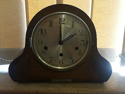 Westminster chime mantel clock 8 day duration working