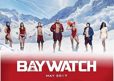 Baywatch Poster 8 • A4 & A3 • Birthday Present • Stocking Filler