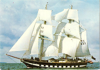 """Training Ship """"Royalist""""-frequent visitor to Alderney,Sark,Jersey etc.1970s/80s"""