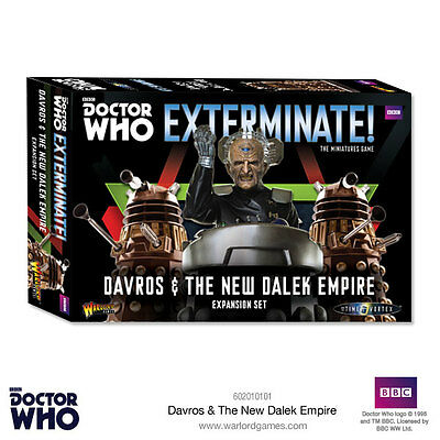 Doctor Who Davros & The New Dalek Empire - Doctor Who Into The Time Vortex