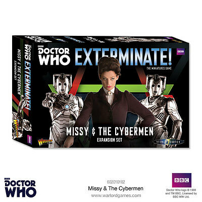 Missy & The Cybermen *Exterminate! Doctor Who Into The Time Vortex* Warlord