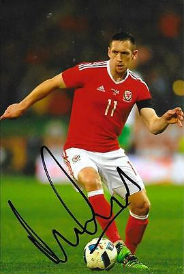 ANDREW CROFTS WALES  HOME KIT SIGNED 6 X 4 PHOTO - Charlton