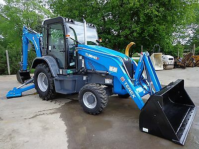 2016 Terex TLB840R Tractor Loader Backhoe Cab Heat AC 4x4 Unused With  Warranty