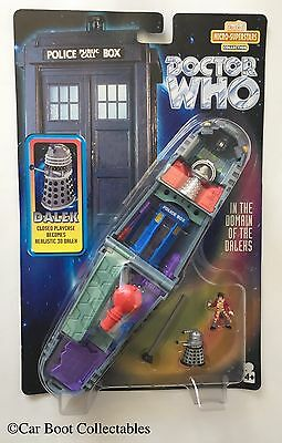 1997 Bluebird Toys Doctor Who 'Domain of the Daleks' Micro Polly Pocket Playset
