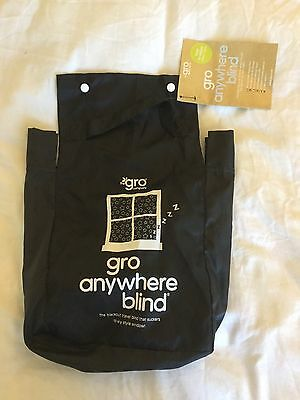 Gro Anywhere Blackout Blind - Portable Easy Fit Blind Adjustable Size