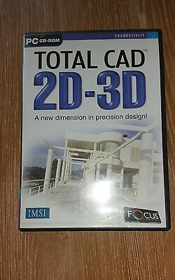Total CAD 2D-3D PC CD-ROM Software