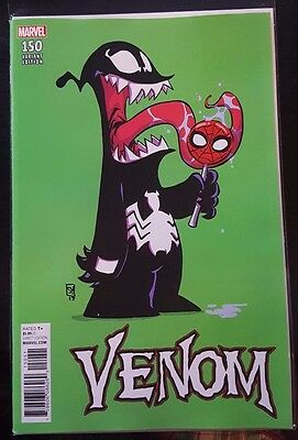 VENOM #150 [2016] - NM+ Skottie Young variant cover - Marvel Comics