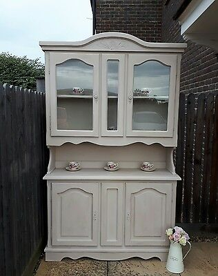 Shabby Chic Dresser Display Cabinet Sideboard Vintage French Farmhouse -Delivery