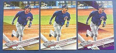 ADDISON RUSSELL 2017 Topps WS LOT VINTAGE STOCK/GOLD/ PURPLE CUBS