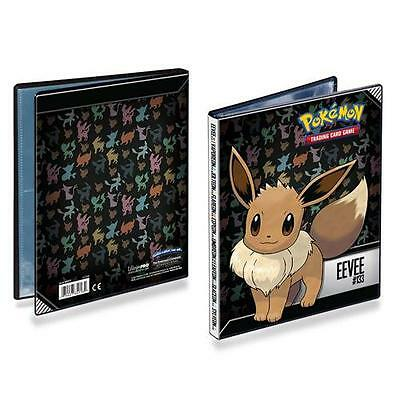Ultra Pro Pokemon Eevee 4 Pocket Portfolio Album Binder (80 Cards)