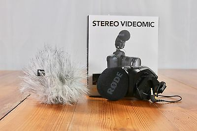 Rode Stereo VideoMic Pro On Camera Stereo Microphone **MINT** w/ Wind Screen