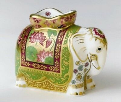 Royal Crown Derby 1st Quality Limited Edition Rani Indian Mother Elephant