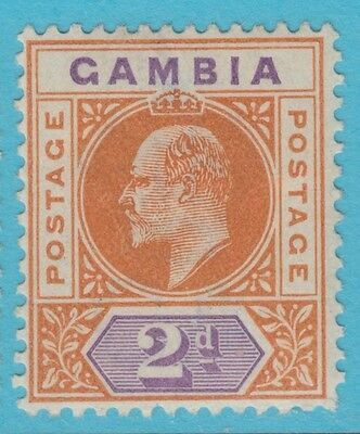 Gambia 30  Mint  Hinged Og * No Faults Extra Fine !