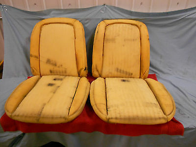 1963 Corvette Seat Foam, Dated Originals