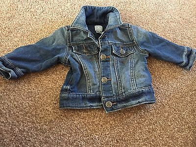 Baby Gap Denim Jacket 3-6 Months Boys