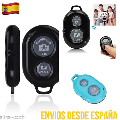 Mando Control Remoto Selfie Todas Marcas Bluetooth Remote Disparador IOS ANDROID