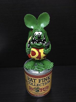 "Rat Fink (Green) Collection Paint Custom Can Painters 8"" Statue Figure"