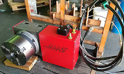 "HAAS HRT210 CNC 4th Axis Rotary Table, Indexer w/ 8-1/4"" 3-Jaw Chuck"