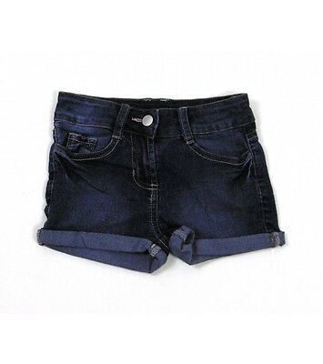 "Girls ""ex Next"" Denim Shorts 3-7 Years - Adjustable Waist"
