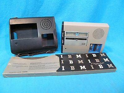 "VINTAGE 1960's IBM 224 EXECUTARY DICTATING MACHINE WITH 3"" MAGNABELTS UNTESTED"