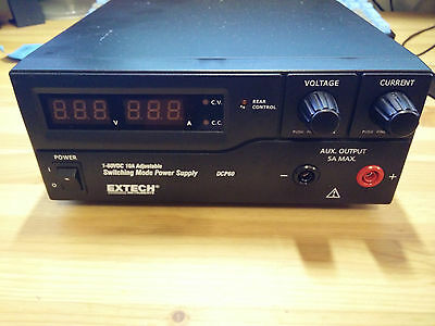 Extech DCP60 600W Switching Power Supply (120V), great condition